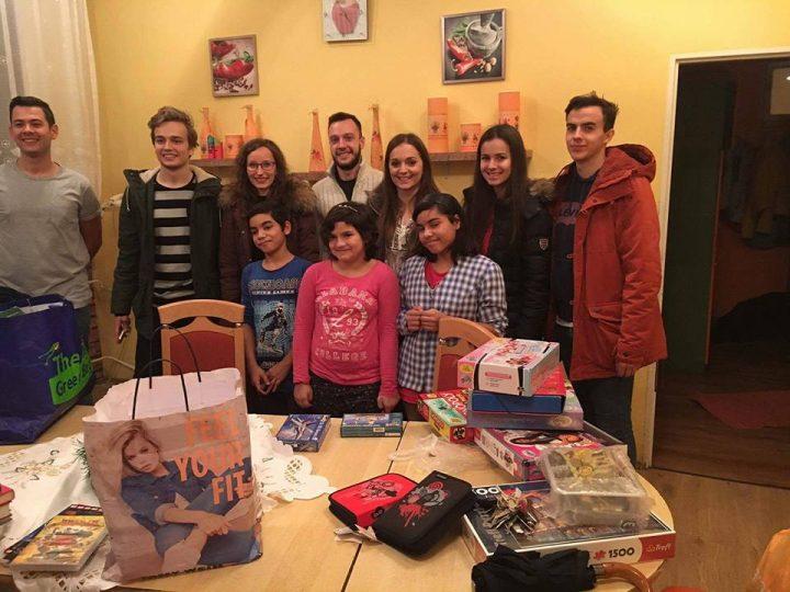 Mikulášske prekvapenie pre deti v detskom domove